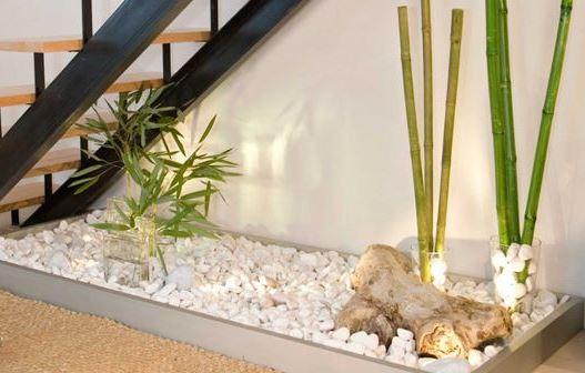 Rincon zen escalera plantasyjardines - Jardin interior zen ...